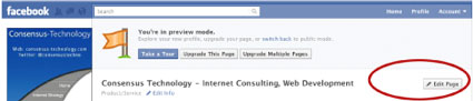 to feature pages on your new facebook page go to settings and then featured